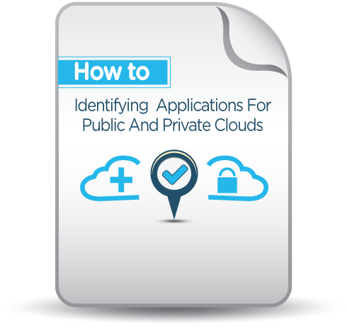 Identifying Applications For Public And Private Clouds