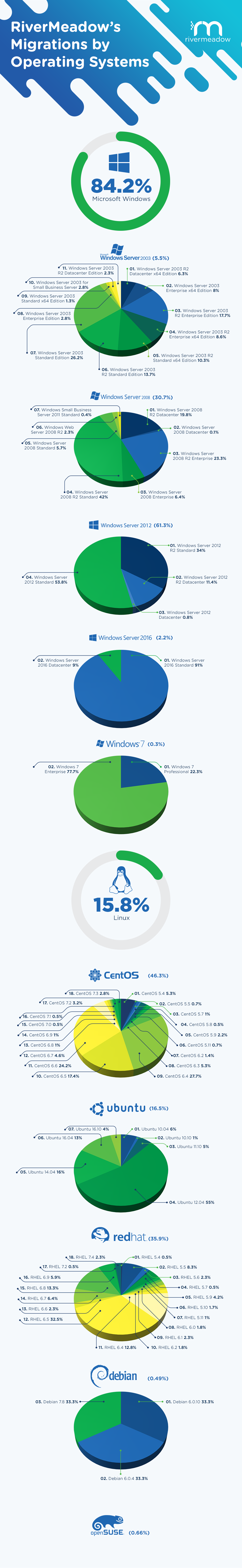 Infographic | RiverMeadow Cloud Migration Services by