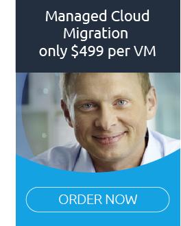 managed cloud migration $499 per VM