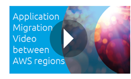 AWS regions migration