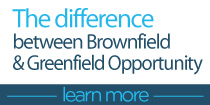 The difference between the Brownfield and Greenfield Opportunity
